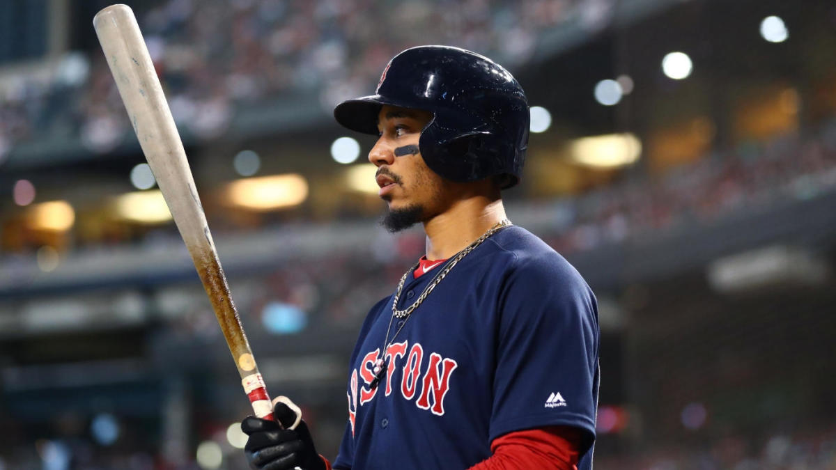 Mookie Betts salió de los Red Sox para unirse a los Dodgers.