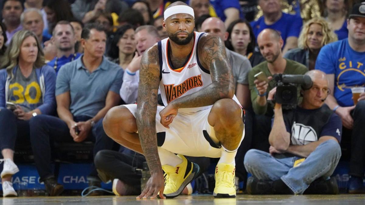 NBA Playoffs: DeMarcus Cousins' quad injury is worse for him
