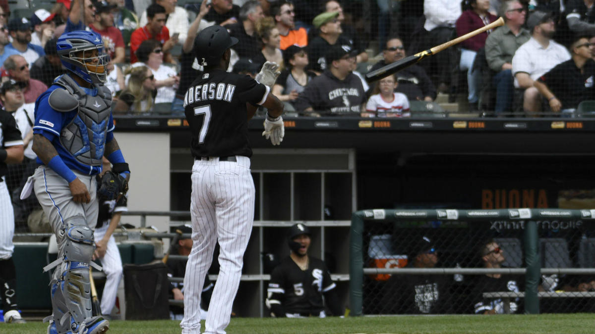 Sensational Royals Plunk White Soxs Tim Anderson After Thunderous Bat Onthecornerstone Fun Painted Chair Ideas Images Onthecornerstoneorg