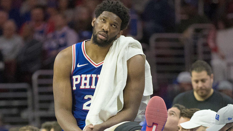Joel Embiid injury update: Sixers' big man listed as doubtful for Game 4 versus Nets with sore knee