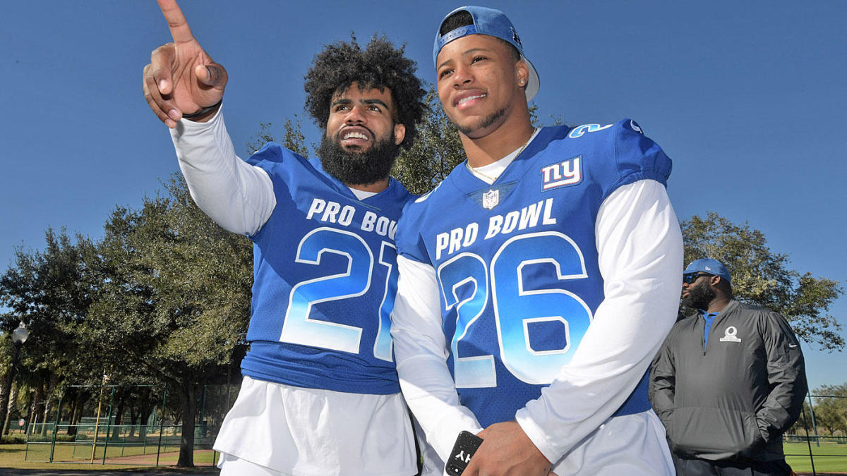 official photos fdfa1 dc455 Top 10 RBs in NFL  NFC East stars Saquon Barkley, Ezekiel Elliott lead the  way
