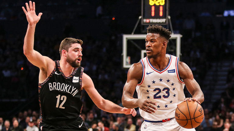 NBA playoffs scores, highlights: Joel Embiid-less 76ers take on Nets