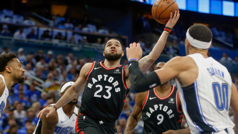 NBA Playoffs scores, highlights: Raptors take 2-1 series lead over Magic; Celtics, Trail Blazers look to go up 3-0