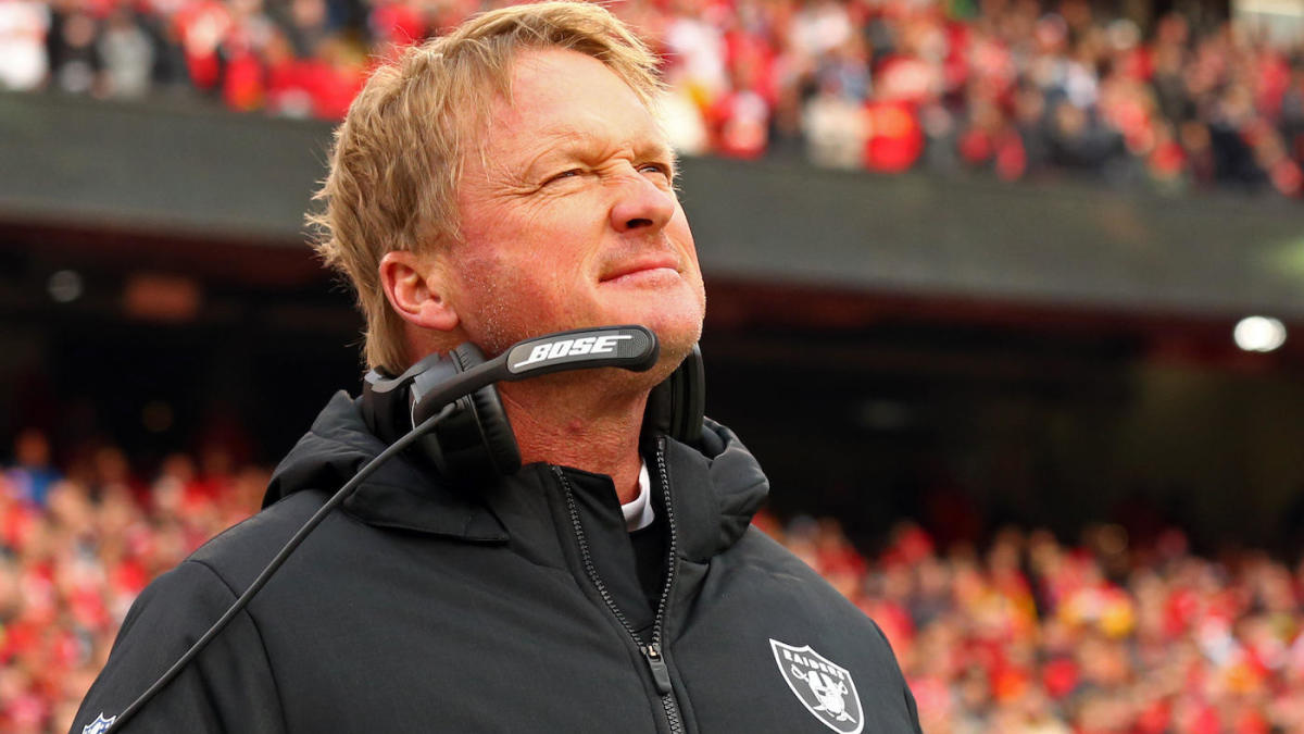 separation shoes 48f39 a4f8c Jon Gruden says Raiders plan to use Trent Brown at right ...