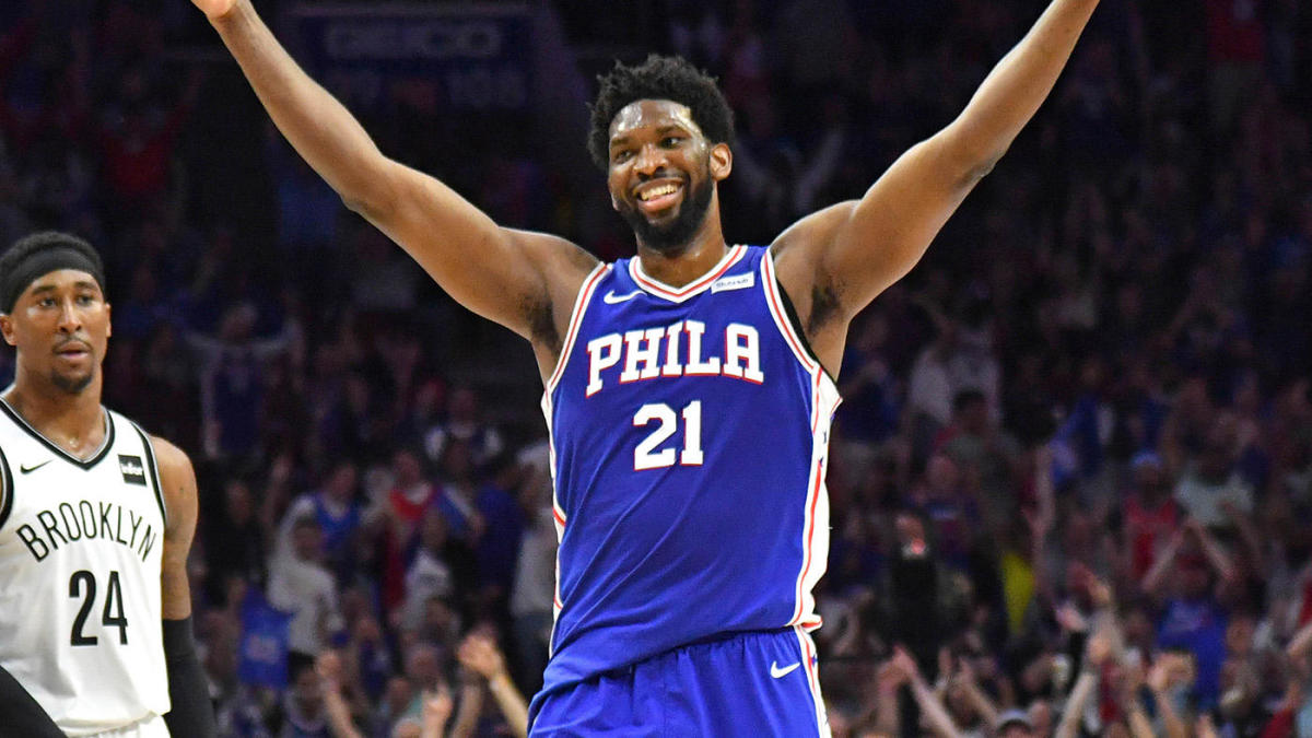 save off 777d3 0abb3 2019 NBA Playoffs 76ers vs. Nets first-round series results ...