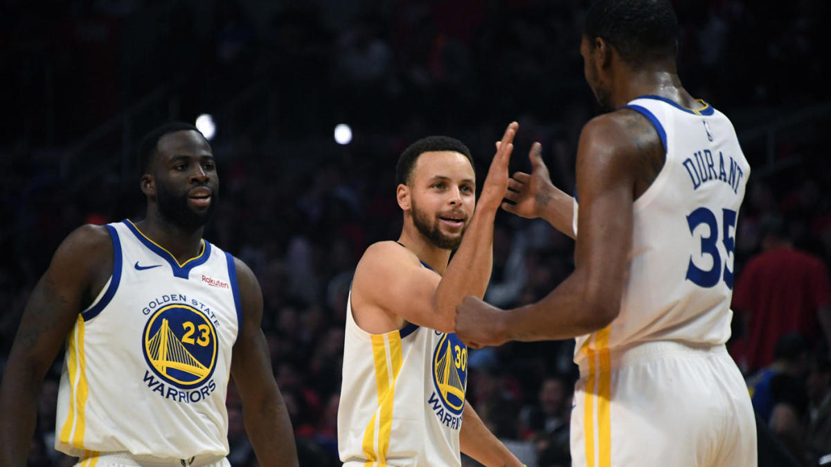 2019 NBA Playoffs Warriors vs  Clippers series results