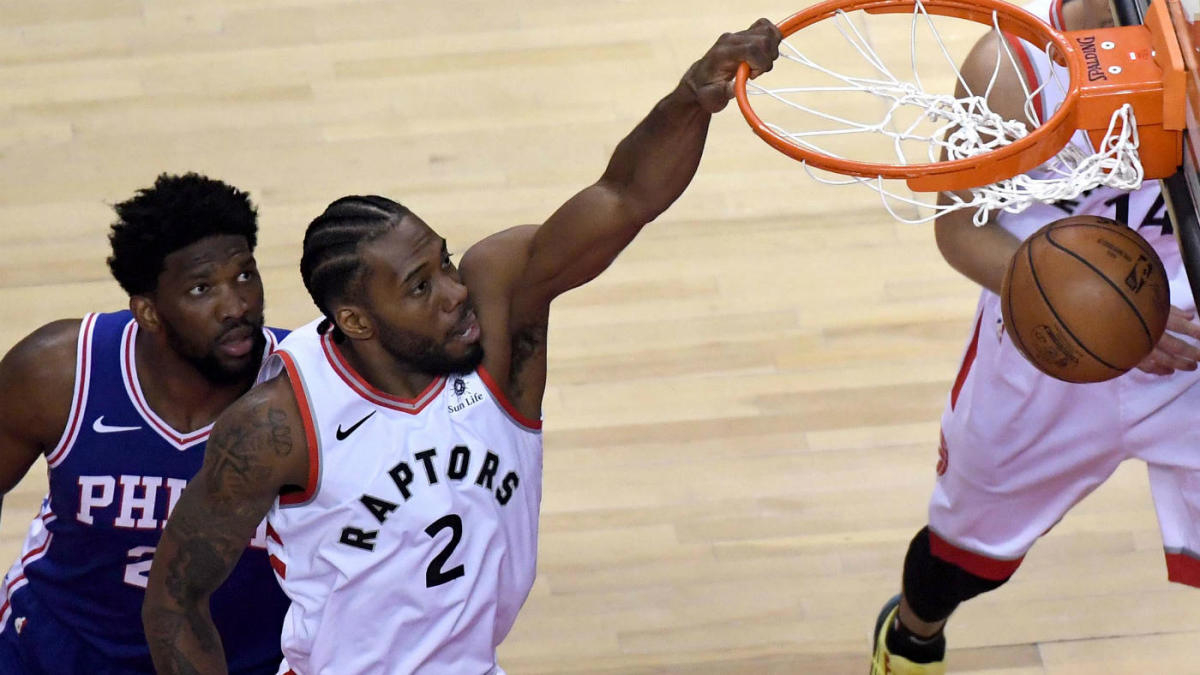 Raptors vs  76ers Game 1 score, highlights: Kawhi Leonard's playoff