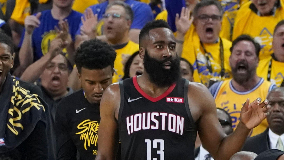 3342c8563e4 NBA Playoffs 2019  Basketball gods use referees for payback on James Harden
