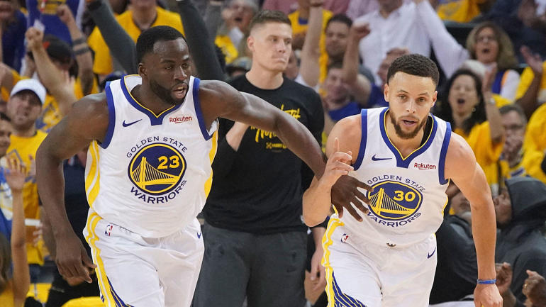Warriors vs. Rockets Game 1 score: Golden State holds off Houston in series opener for 1-0 lead in second round - CBS Sports