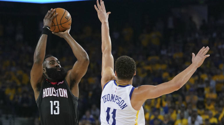 Image result for harden warriors 2019 nba playoffs