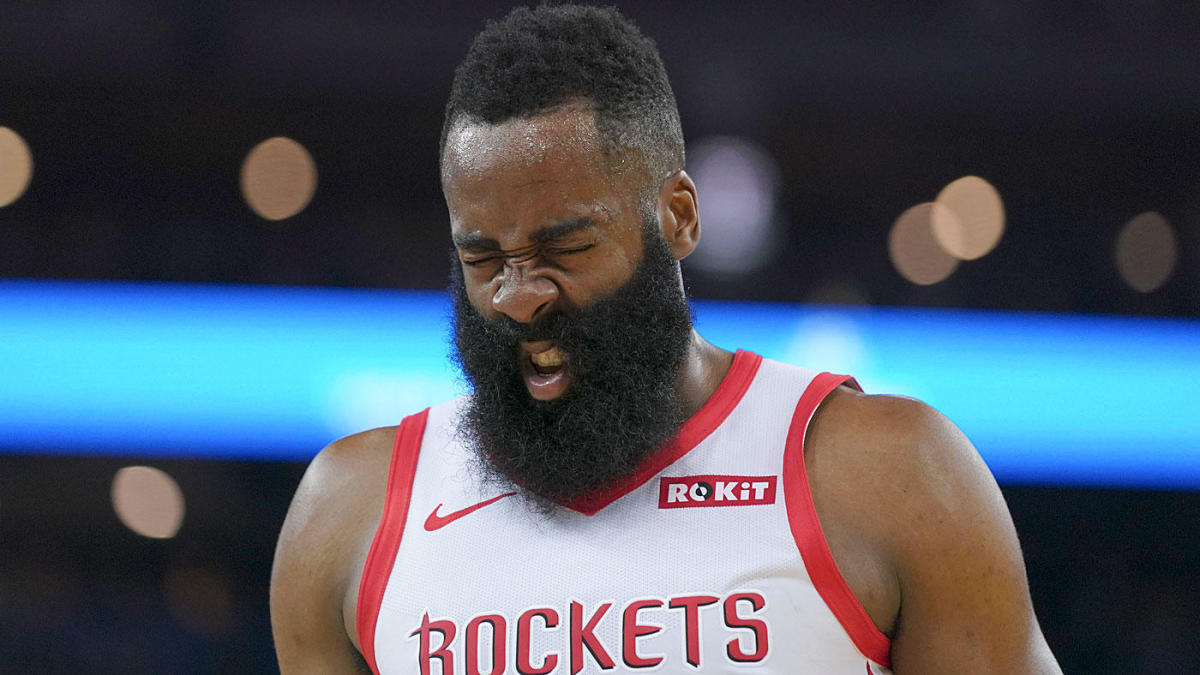 NBA Playoffs 2019: James Harden's injury shows Rockets' scrappiness, and reminds us of Warriors' absurd depth of talent