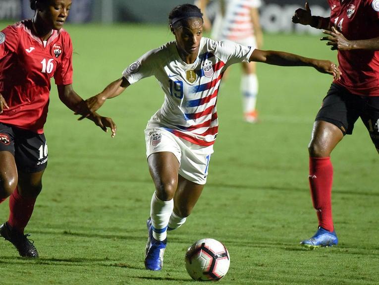 Soccer: 2018 CONCACAF Women's Championship-Trinidad and Tobago at USA