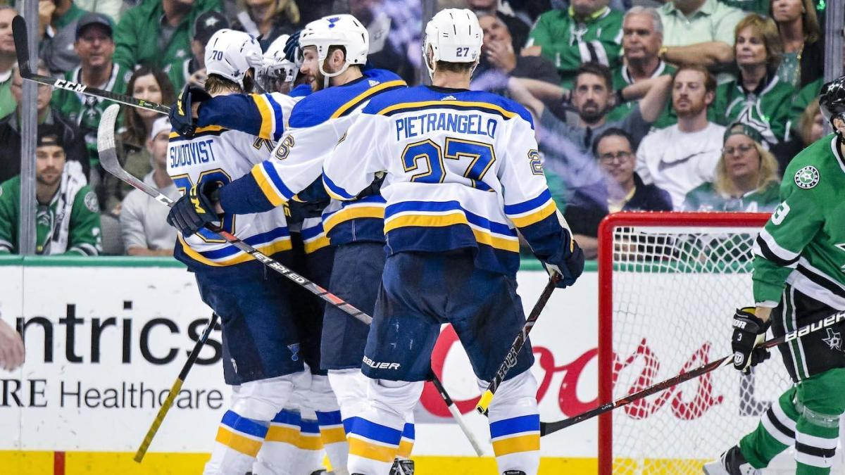 Stanley Cup Playoffs results: Blues stave off elimination with Game 6 win over Stars in Dallas; Ben Bishop injured