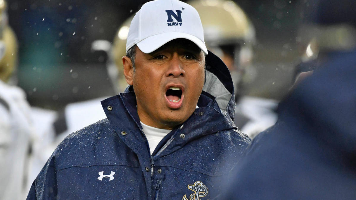 Navy coach Ken Niumatalolo apologizes after blaming Pentagon for Commander-in-Chief series in 2020 season