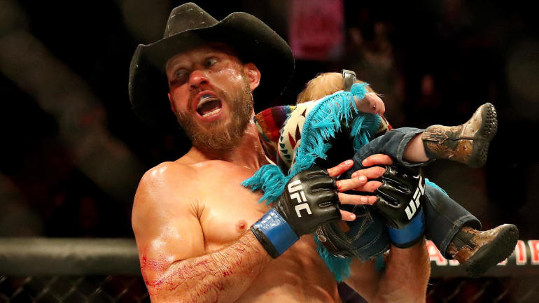 UFC Fight Night Vancouver headliners Justin Gaethje and Donald Cerrone sell fights with fists, not words