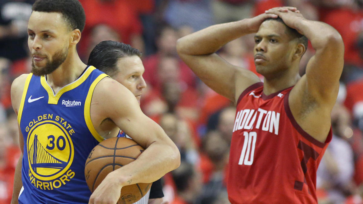1adff18a5eed NBA Playoffs 2019  Rockets  window to conquer Warriors is officially closed  following disastrous Game 6 defeat. The Rockets missed a golden ...