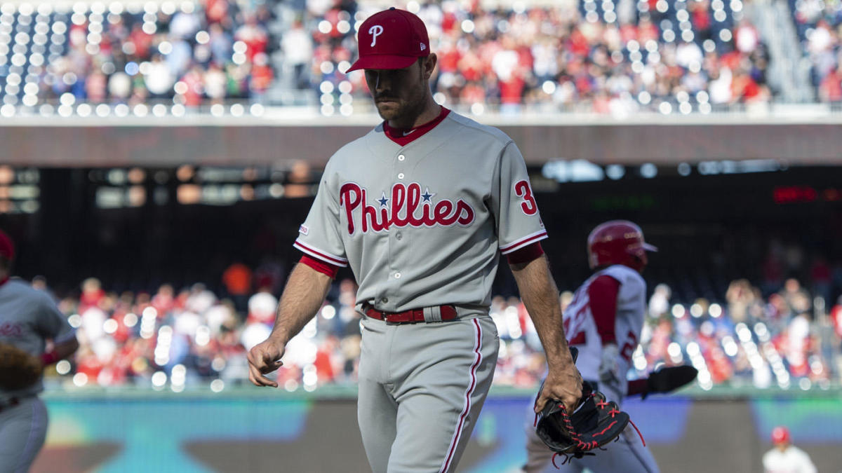 19376e407 Phillies won t have David Robertson for another month and their schedule  won t do them any favors over that stretch