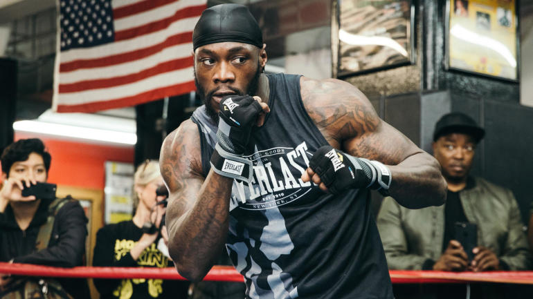 Deontay Wilder On Dominic Breazeale His Life Is On The Line For