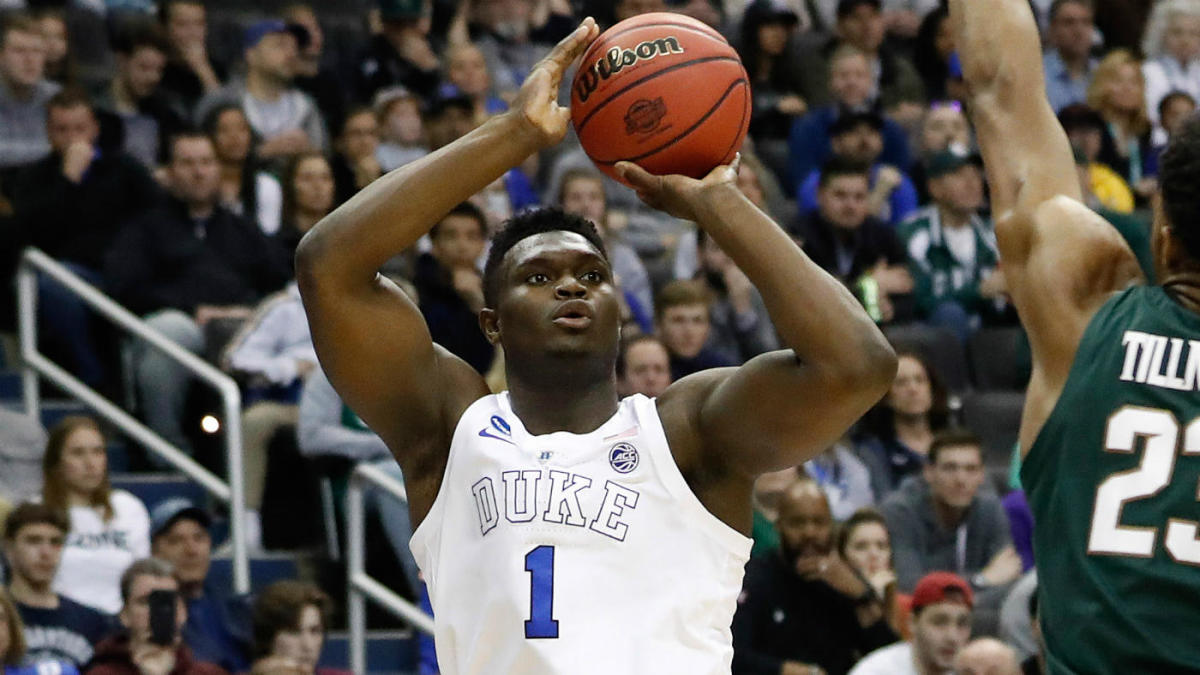 Image result for zion williamson shooting