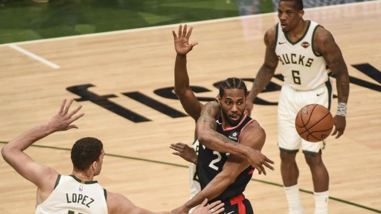 cec61a9fe7a1 NBA Playoffs 2019  Watch Bucks vs. Raptors Game 3