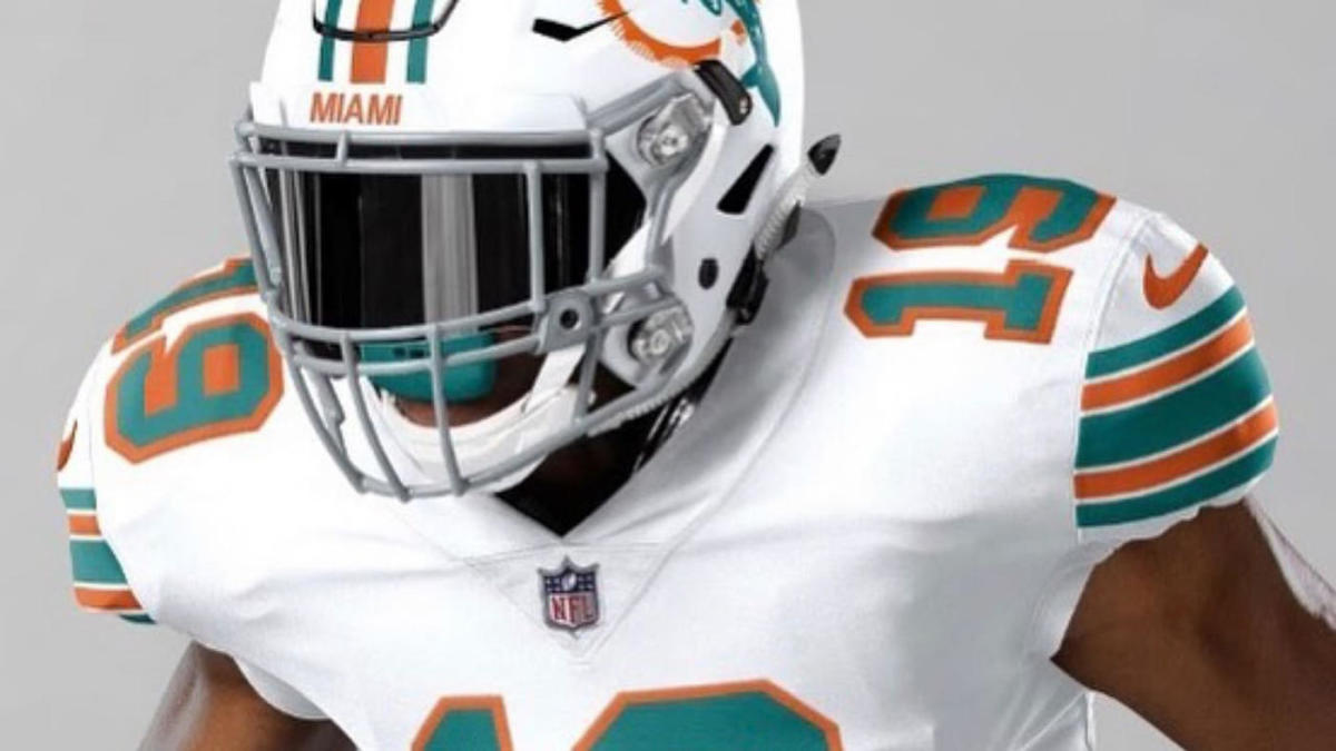 sports shoes 14a84 a2d1c Miami Dolphins to wear all-white throwback uniforms against ...