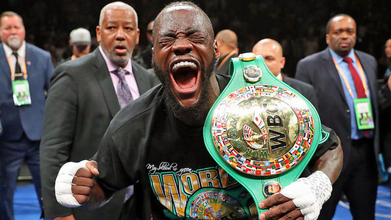 Boxing schedule for 2019 features Deontay Wilder vs. Luis Ortiz, Anthony Joshua vs. Andy Ruiz