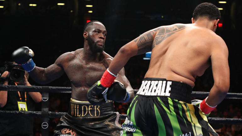 WATCH: Check out every angle of Deontay Wilder's knockout win over Dominic Breazeale