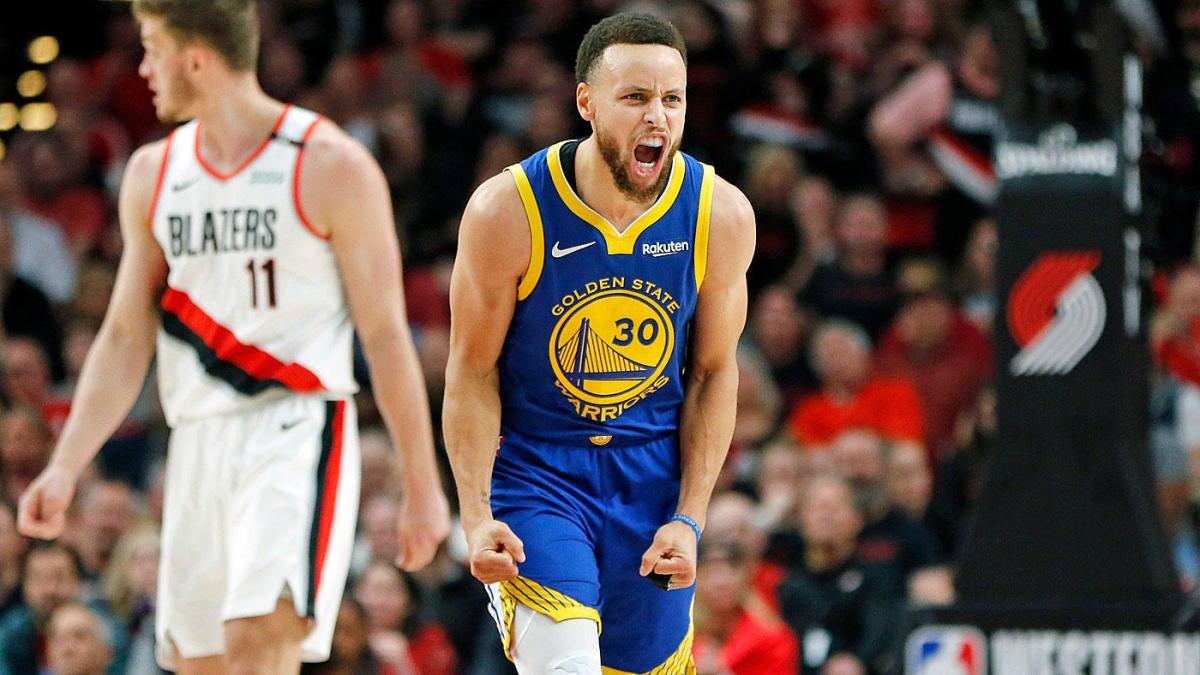 0ae0ea511e62 NBA Playoffs 2019  Warriors vs. Blazers odds