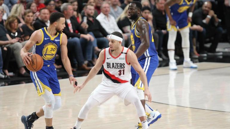 Warriors vs. Blazers Game 3 score, takeaways: Steph Curry, Draymond Green lead Golden State to comeback win, 3-0 lead - CBS Sports