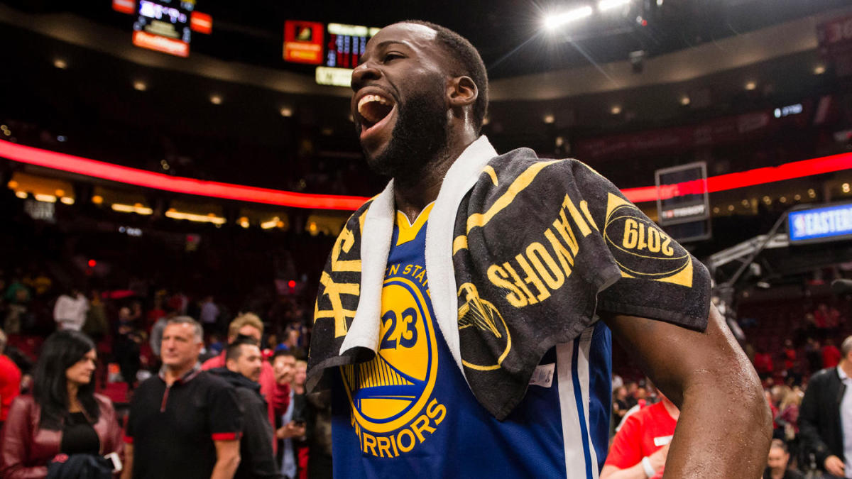 c45ea531a90 Warriors vs. Blazers: How Draymond Green's son led him to honest  introspection, and the best stretch of his NBA career - CBSSports.com