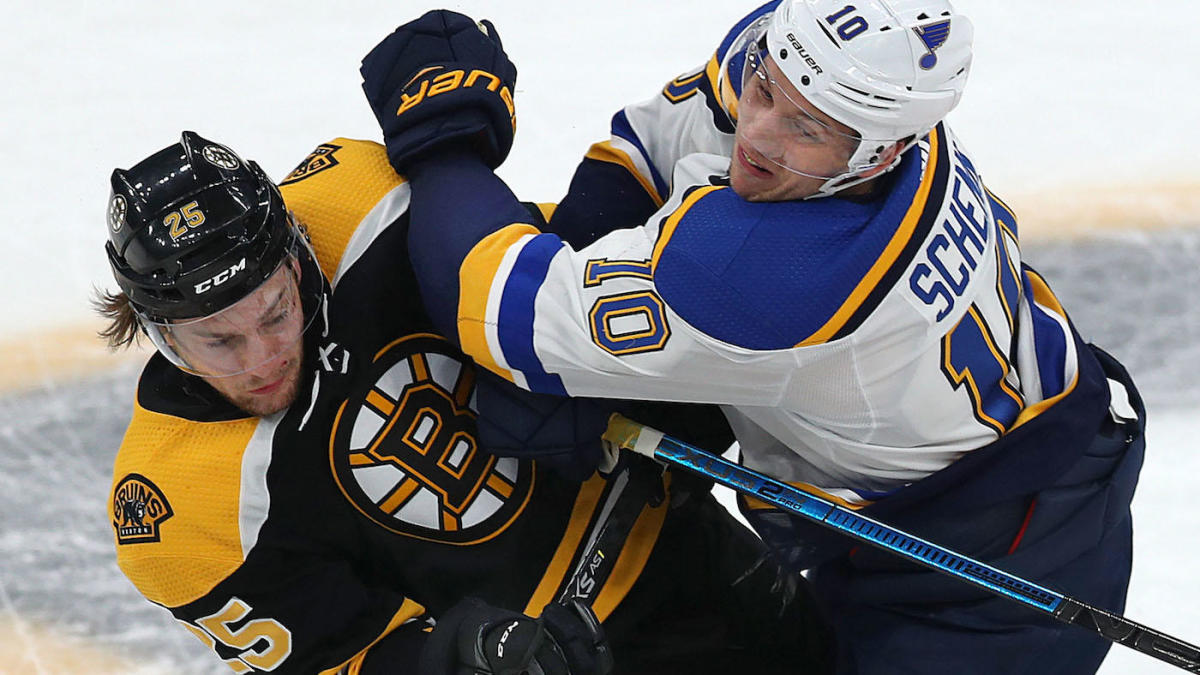 2019 Stanley Cup Final Breaking Down The Matchups Between The Bruins And Blues Cbssports Com