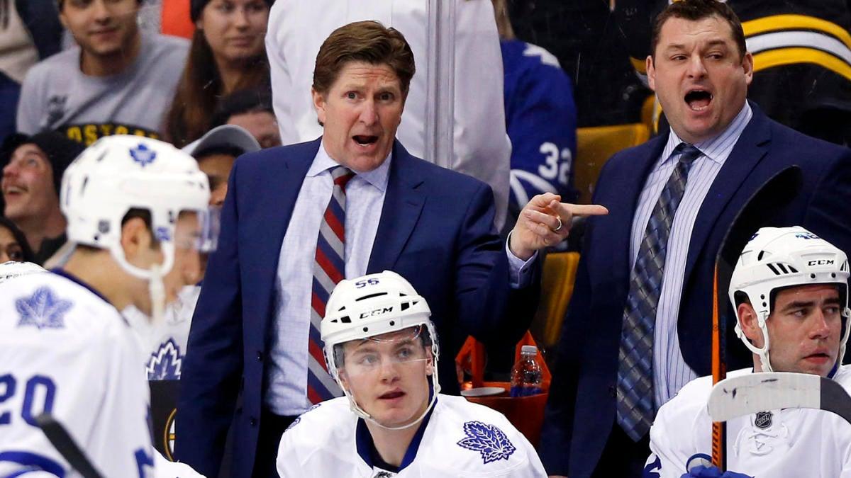 Toronto Maple Leafs fire coach Mike Babcock following slow start to 2019-20 season