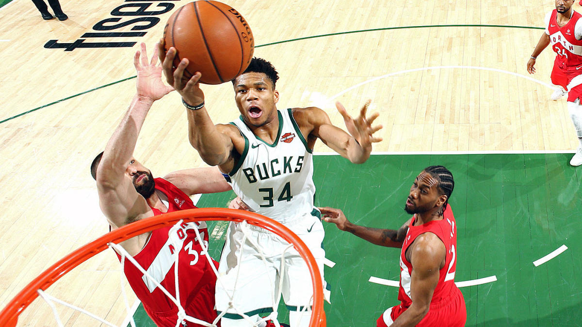 Should Giannis Antetokounmpo's Bucks be the title favorite? They have a case, even if they arguably got worse