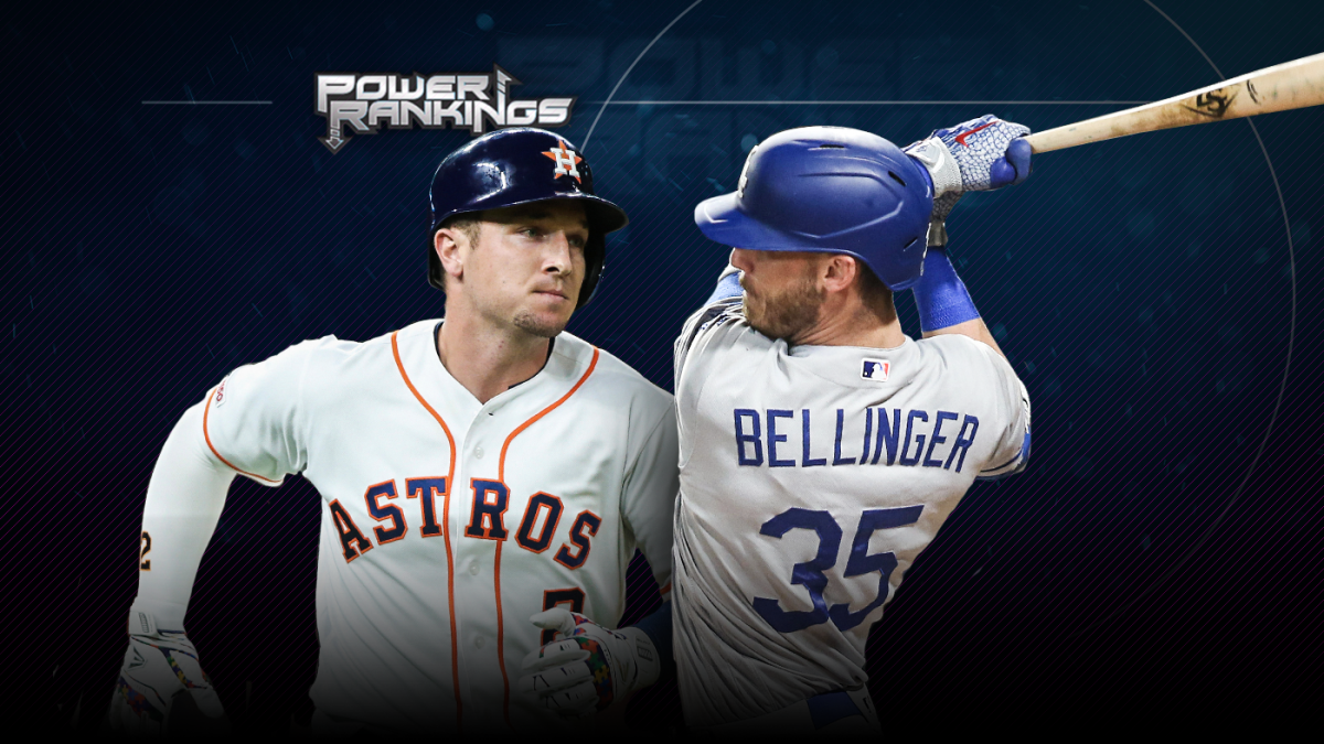d34945b890b MLB Power Rankings: High-powered Astros, Dodgers running away with races  out west - CBSSports.com