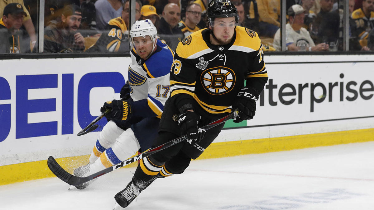 Stanley Cup Final: Bruins come back from 2-0 deficit, score four unanswered to win Game 1 vs. Blues