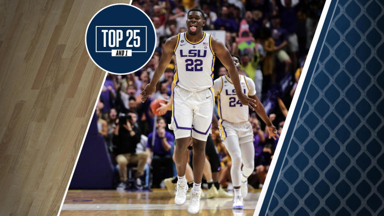 College basketball rankings: LSU joins early Top 25 And 1 after deadline for NBA Draft decisions