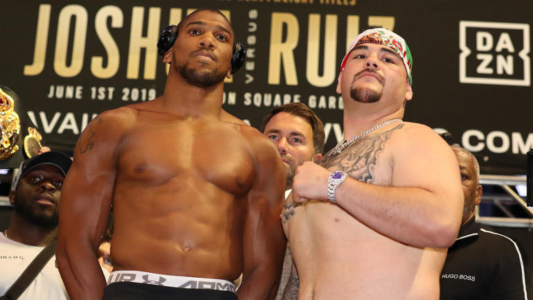 Anthony Joshua vs. Andy Ruiz heavyweight title rematch set for December in Saudi Arabia