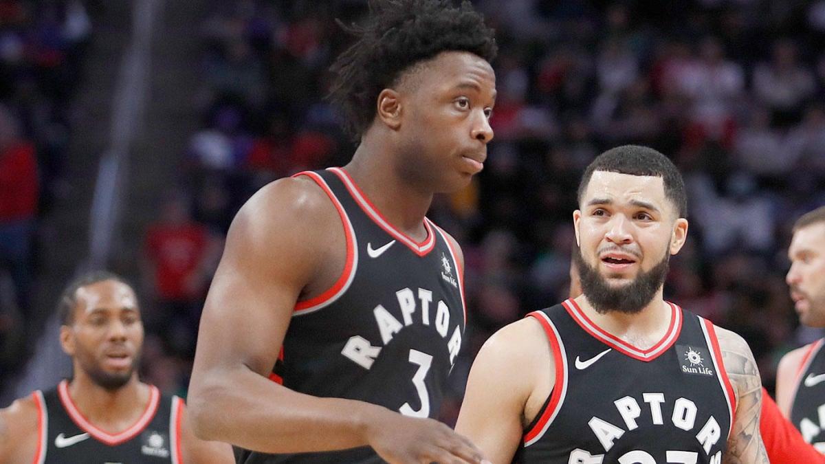 NBA forward OG  vs. Toronto Raptors Warriors Finals: