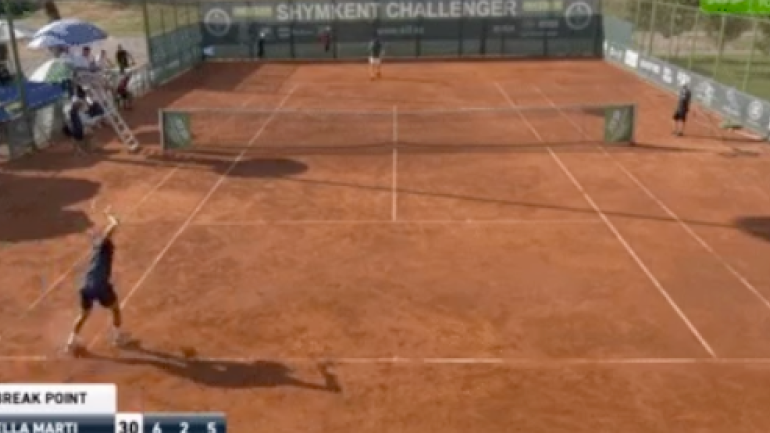 LOOK: Spanish tennis player goes absolutely berserk, throws racket at ATP Challenger Tour