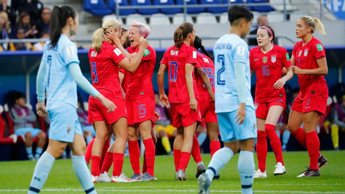 Game ScoreThe In Uswnt 13 Thailand Us V Women's 0 Win Worst EHD9YW2I