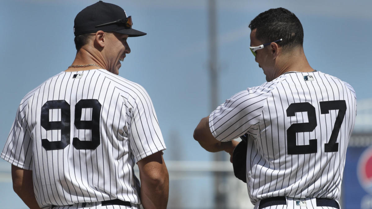 differently b3c2f d1e90 Yankees injuries: Giancarlo Stanton, Aaron Judge expected to ...