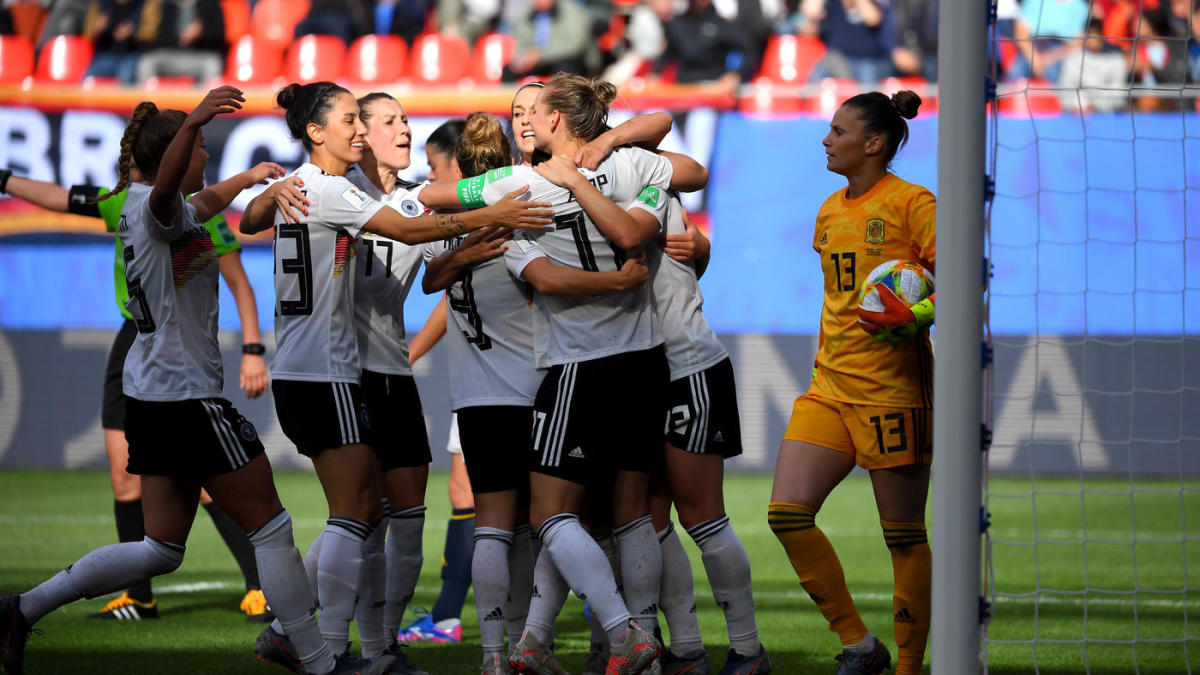 World News: Germany vs  South Africa: 2019 FIFA Women's