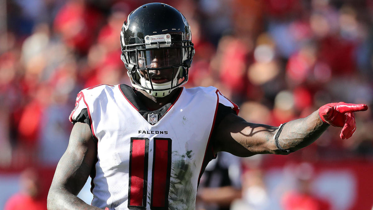 Julio Jones taking Falcons 'word' that new contract will be done, not  planning to hold out again - CBSSports.com
