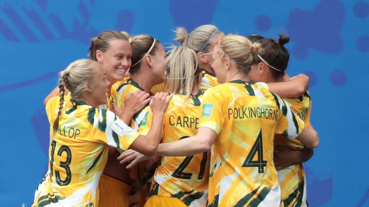 Image result for brazil australia women world cup
