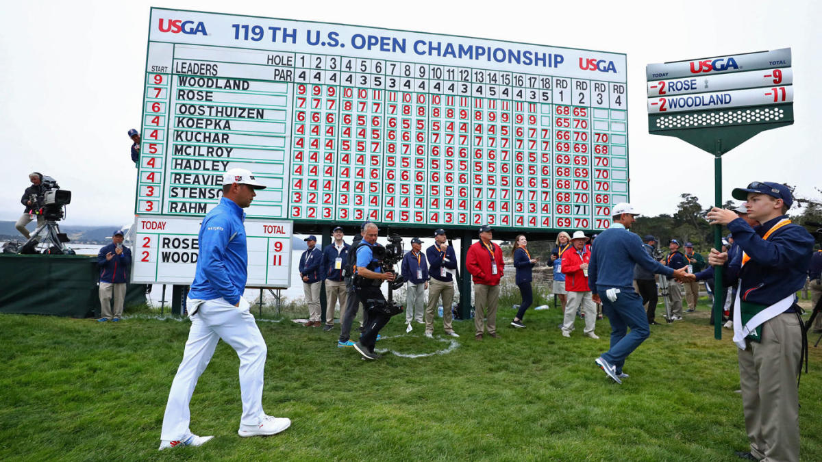 2019 u s  open leaderboard  live coverage  golf scores