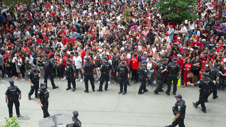 Toronto police confirm shooting during Raptors' championship parade at Nathan Phillips Square