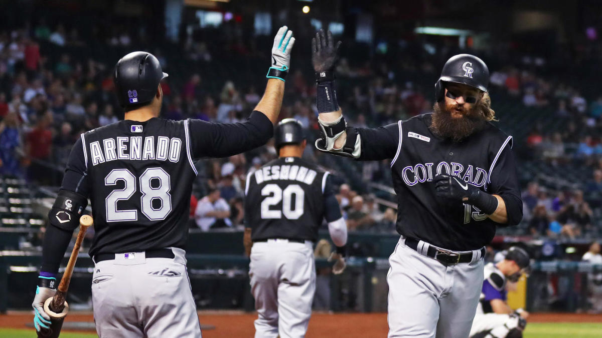 MLB scores: Red-hot Charlie Blackmon hits fifth leadoff home