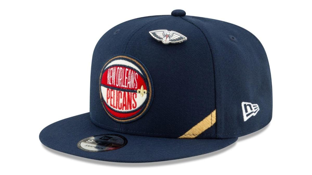 sale retailer 9e08c 69f6f 2019 NBA Draft  New Era unveils draft hats for all 30 teams that  pay  homage to the varsity jacket  - CBSSports.com