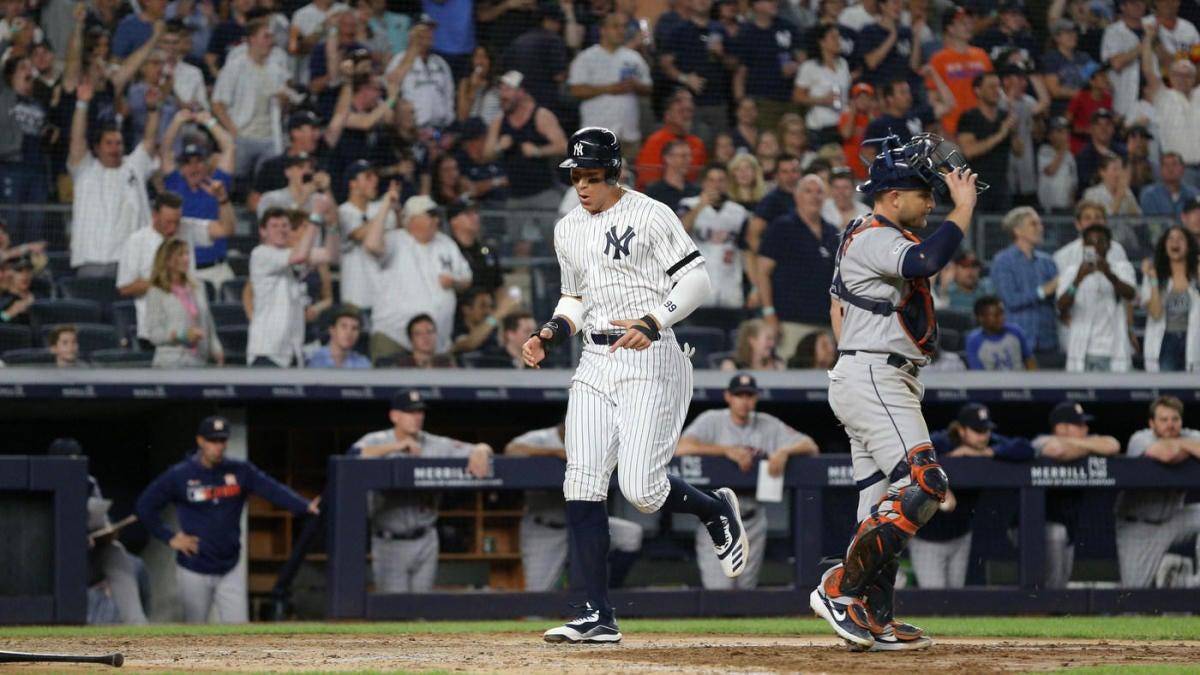 Yankees Home Runs 2020.Yankees Home Run Streak Hits 25 Games As Two Other Streaks