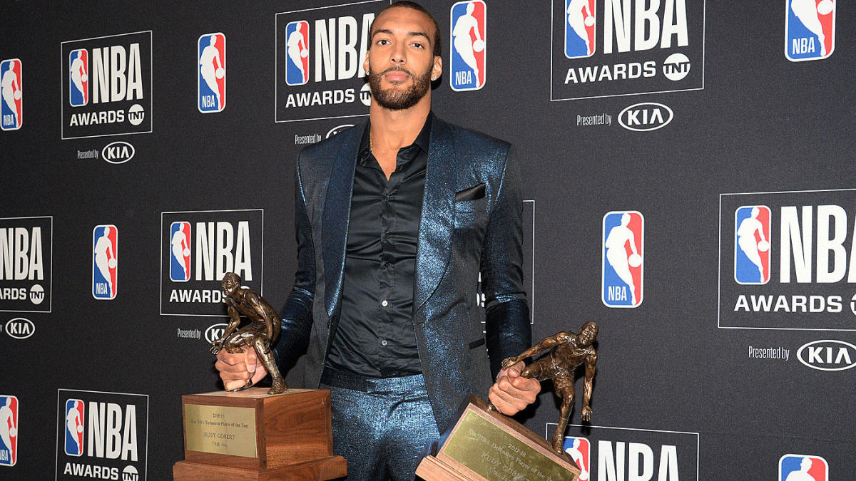 2018-19 NBA Awards: Jazz star Rudy Gobert named Defensive Player of the Year for second straight season